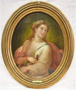 Andrea Sborigi Portrait of a Woman OB