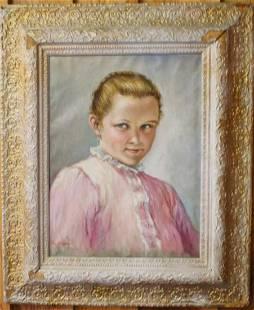 Raffay Portrait Of Young Woman OC