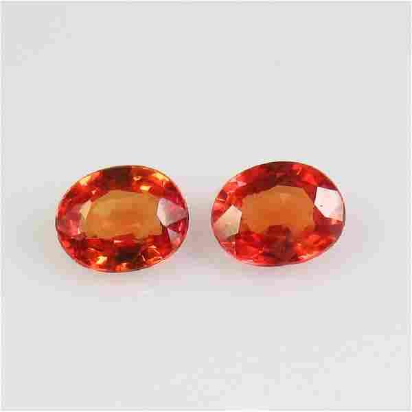 NO RESERVE ~ 0.79 Ct Natural Ceylon Orange Sapphire 5X4