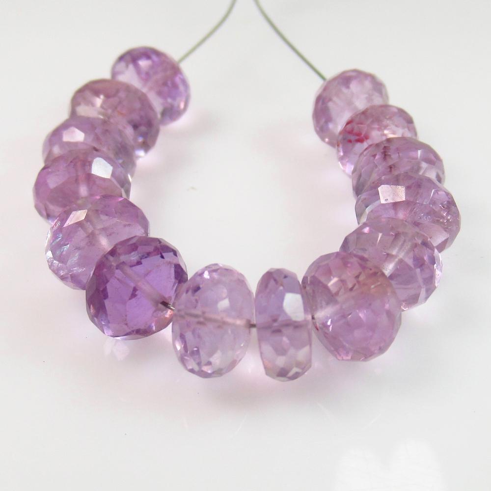 27.76 Ct Natural 12 Purple Amethyst Drilled Round