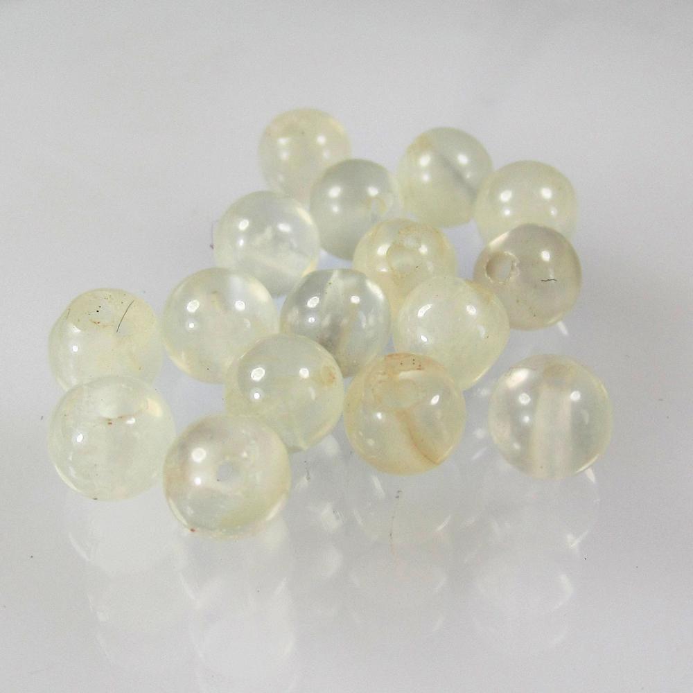 9.77 Ct Natural 16 Moonstone Beads