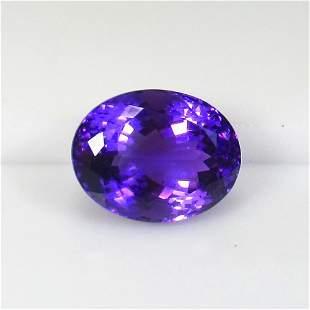 23.42 Ct Natural Purple Amethyst