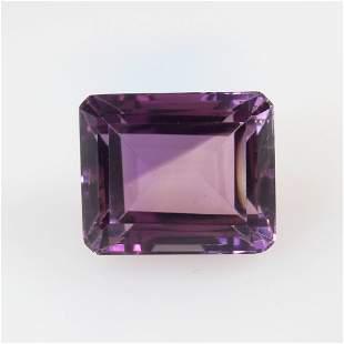 18.42 Ct Natural Purple Amethyst