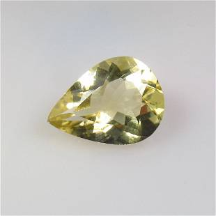 6.58 Ct Natural Yellow Citrine