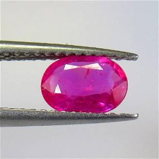 0.90 Ct Natural Pinkish Ruby