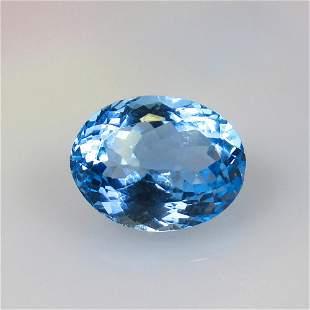 13.09 Ct Natural Blue Topaz