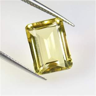 7.63 Ct Natural Yellow Citrine