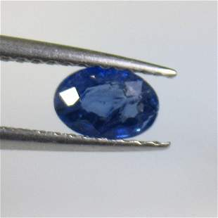 0.57 Ct Natural Blue Sapphire