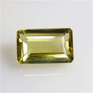 7.39 Ct Natural Yellow Citrine