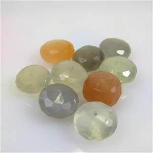 52.22 Ct Natural 9 Moonstone Beads