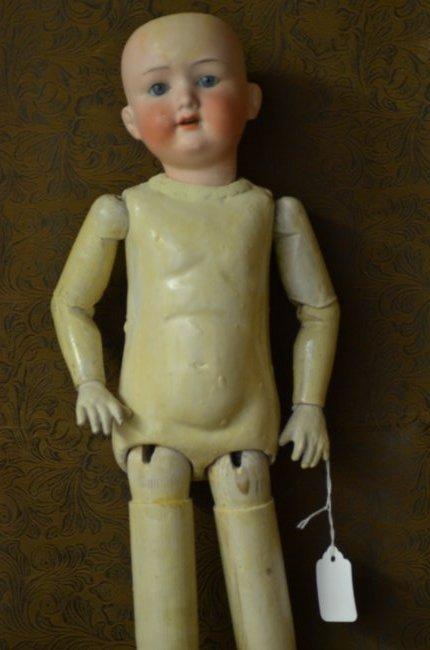"21"" Antique AM Bisque Doll"