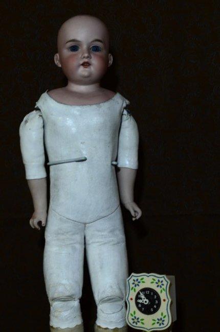 """24"""" AM Bisque Doll"""