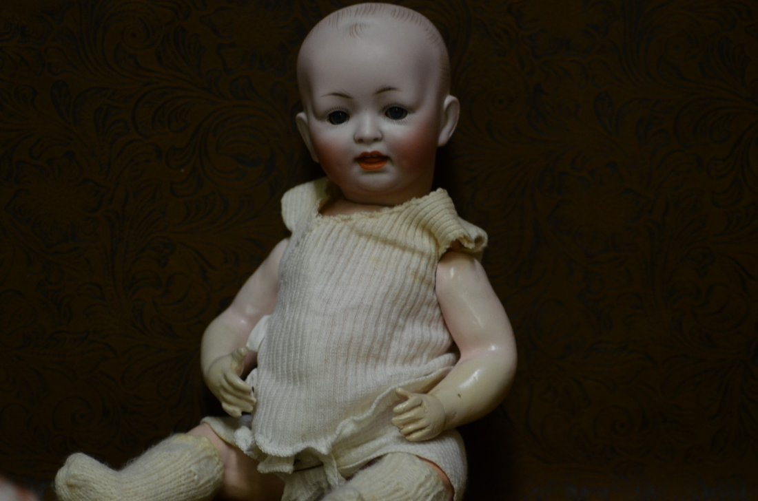 """11"""" 151  Antique Character Baby Doll"""