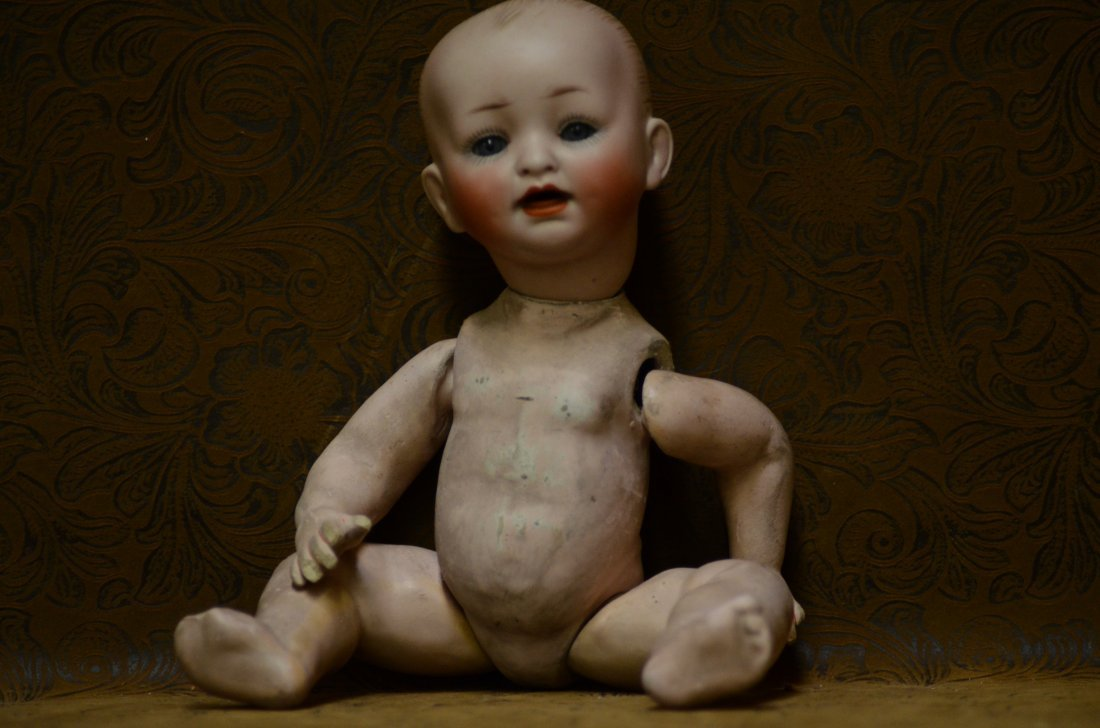 """9"""" 151 Antique Character Baby"""