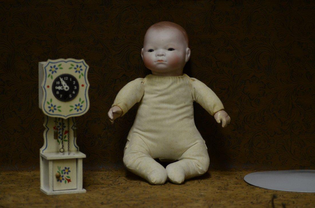 "11"" Antique Sleeping Baby Doll"