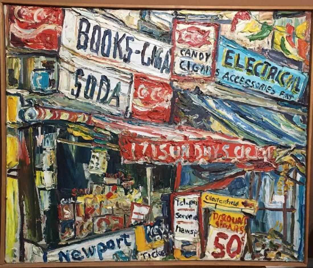 Philip Sherrod, (AMERICAN, b. 1935), Painting, Oil on