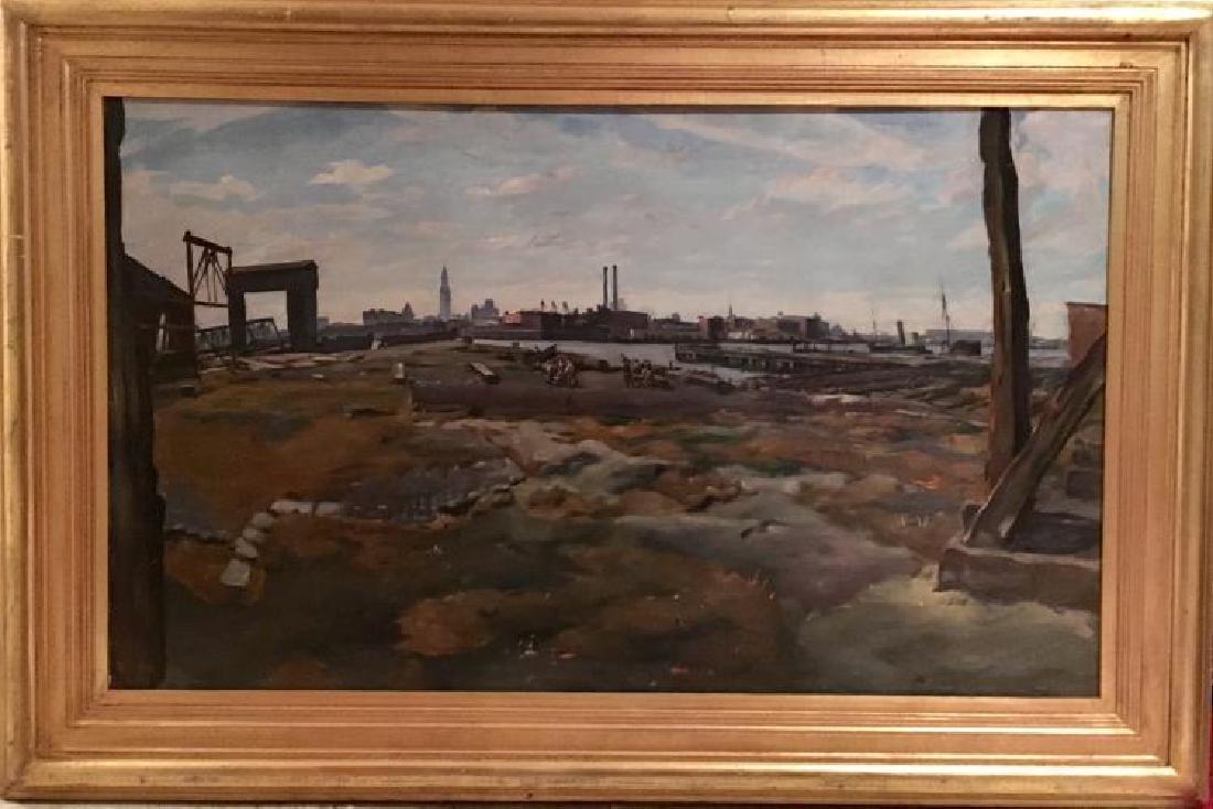 Richard H. Bassett, (American 1900-1995), Painting, Oil