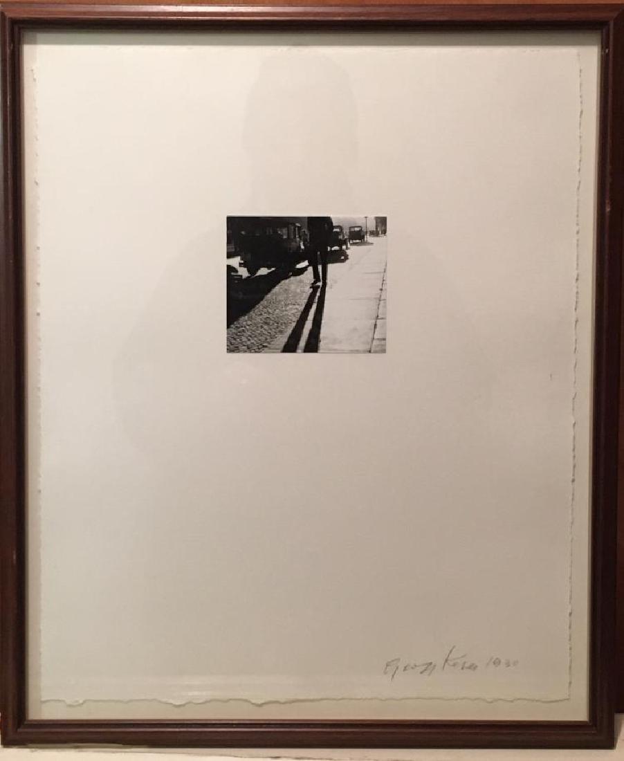 Gyorgi Kepes (1906-2001) Photograph Mounted on Paper