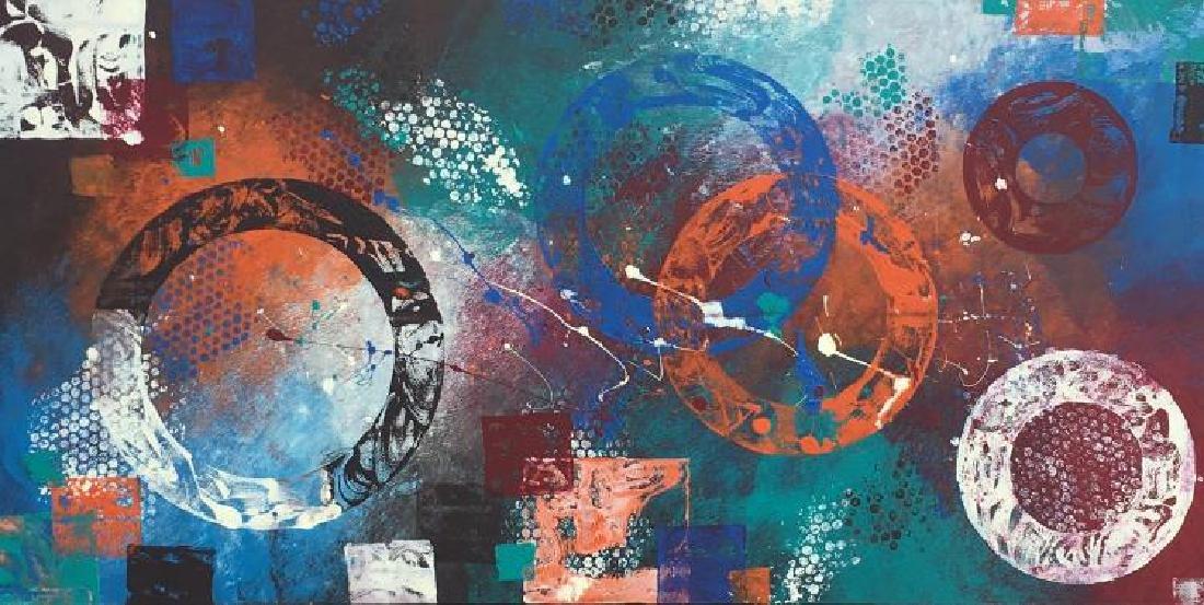 Klia Ververidis, (American b. 1970), Acrylic on Canvas,