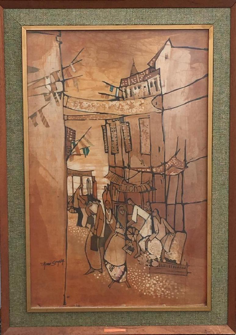 Tan Thean Song, (Malaysia, 1946-2017), Batik, 1969,