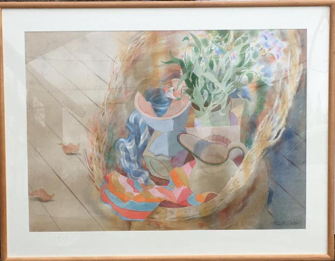 Ruth Cobb, (American, 1914 - 2008), Watercolor, Signed,