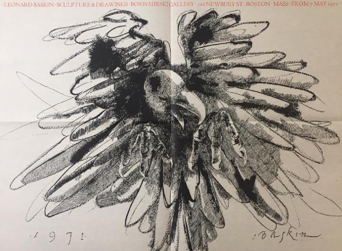 Leonard Baskin (American 1922-2000), Exhibition