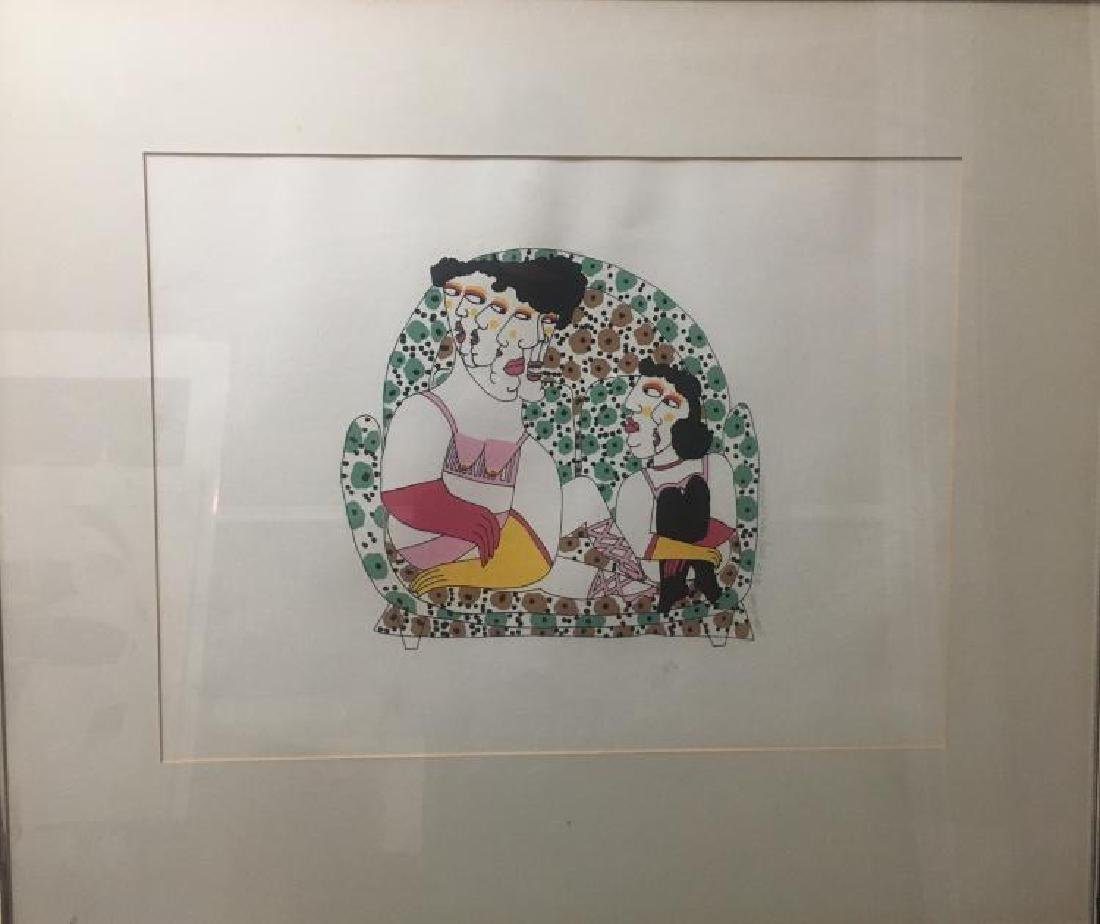 "Nancy Sutherland (American b. 1945), Lithograph ""Helen"