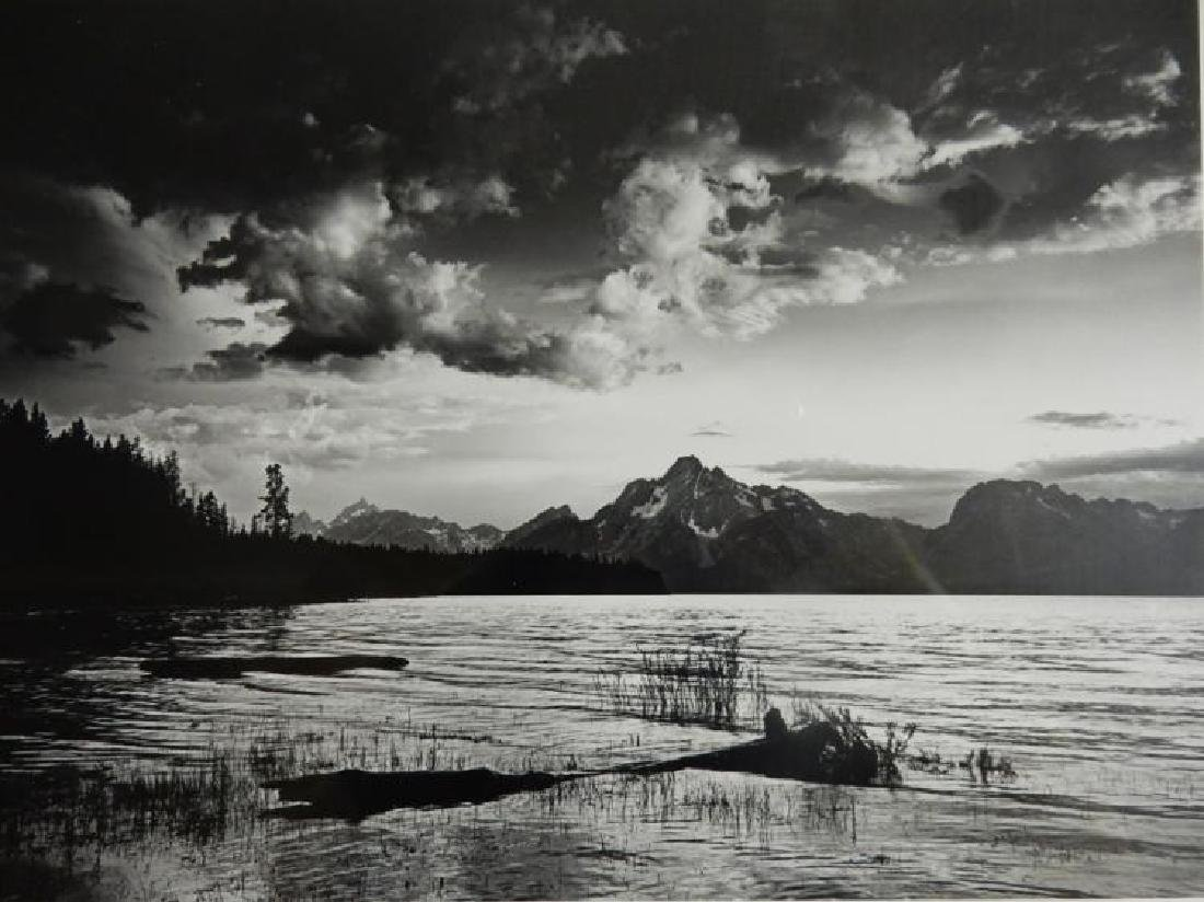 Howard Bond (American b. 1931), Twilight, Jackson Lake,