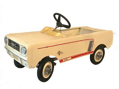 1960s Ford Mustang Dealer Promo Display Pedal Car