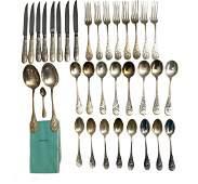 Tiffany & Co. Audubon Pattern Sterling Silver Flatware