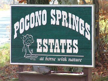 1: Pocono Springs Estates, PA Lake 1/3 Acre Resort Lot