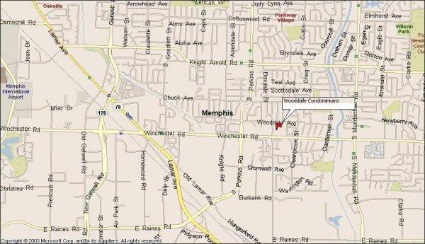 107: Memphis, TN Investment Condo 2 BR