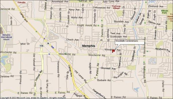 108: Memphis, TN Investment Condo 2 BR
