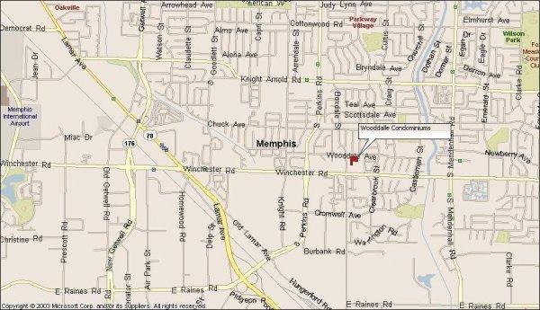 111: Memphis, TN Investment Condo 2 BR