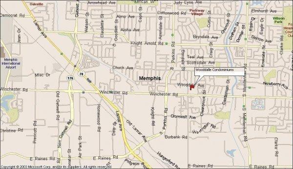 112: Memphis, TN Investment Condo 2 BR