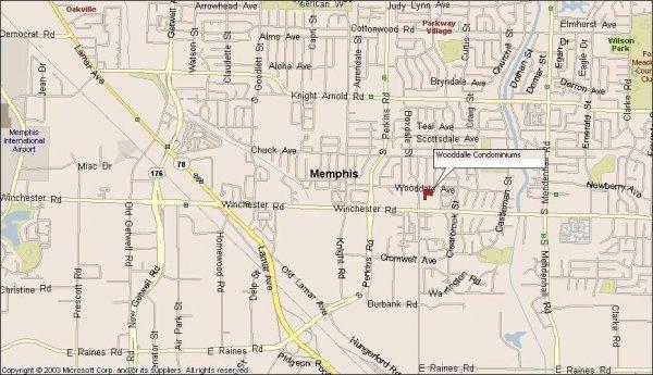 113: Memphis, TN Investment Condo 2 BR