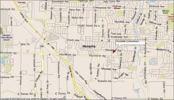 114: Memphis, TN Investment Condo 2 BR