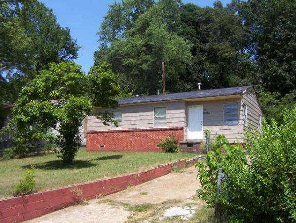 122: Memphis, TN Rental House  2 BR $525 income