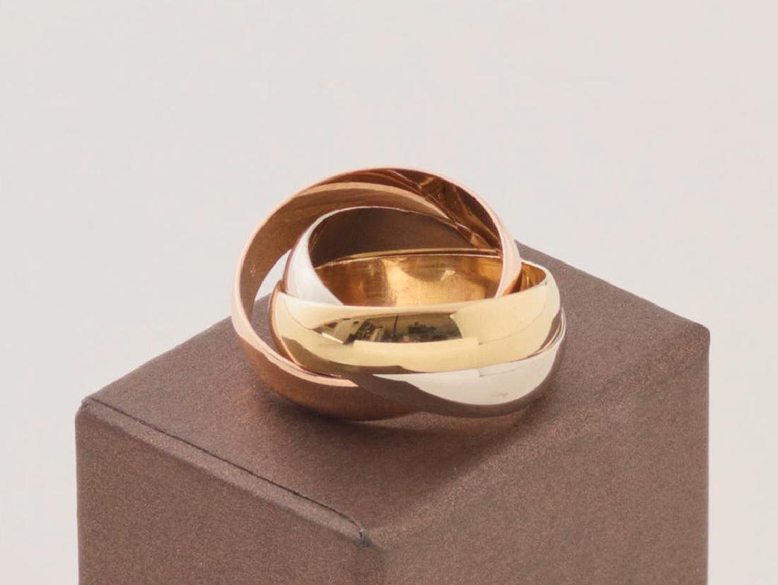 Cartier, Paris, Ring Trinity 18 K Gold