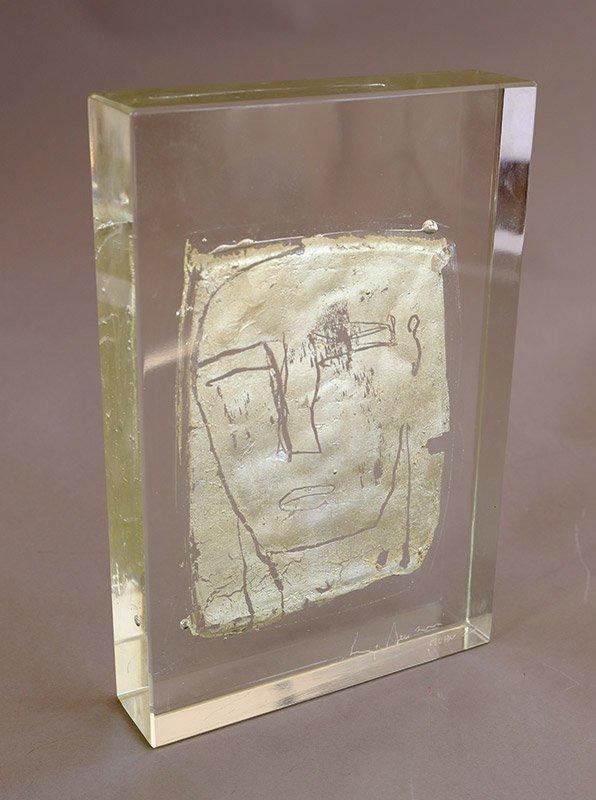 Luigi Benzoni, *1956, Glasobjekt