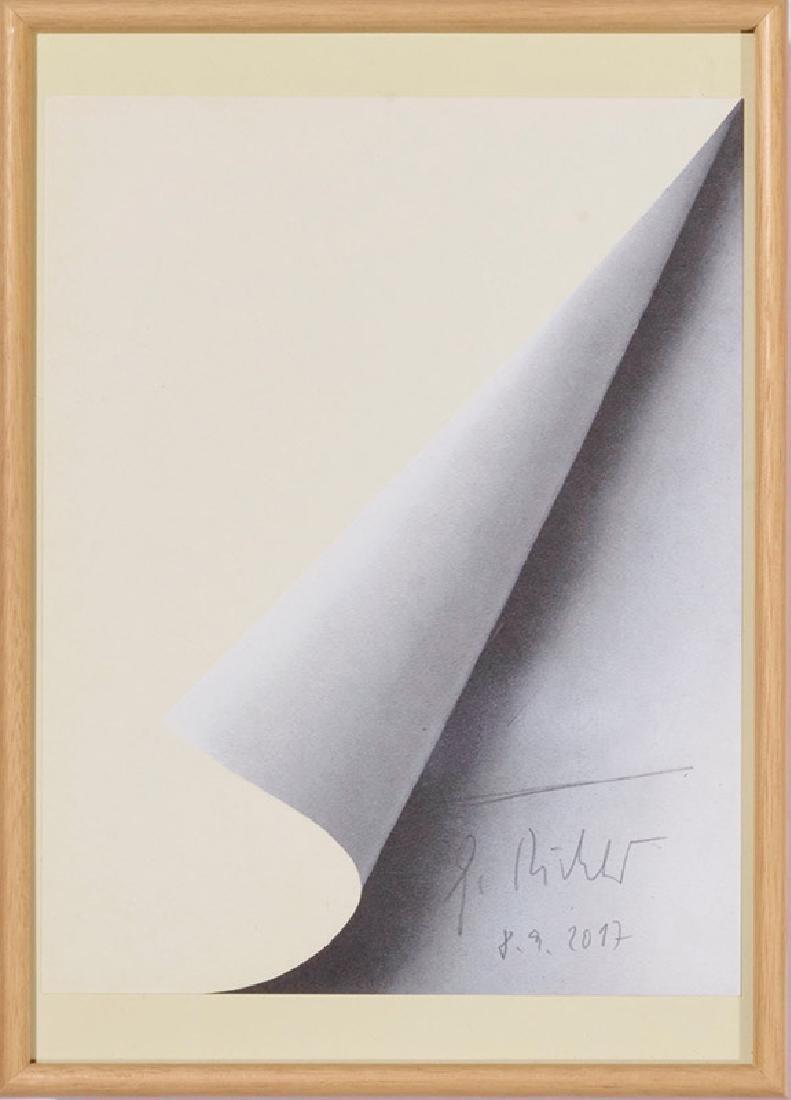Blattecke, 2017, Gerhard Richter* (*1932)