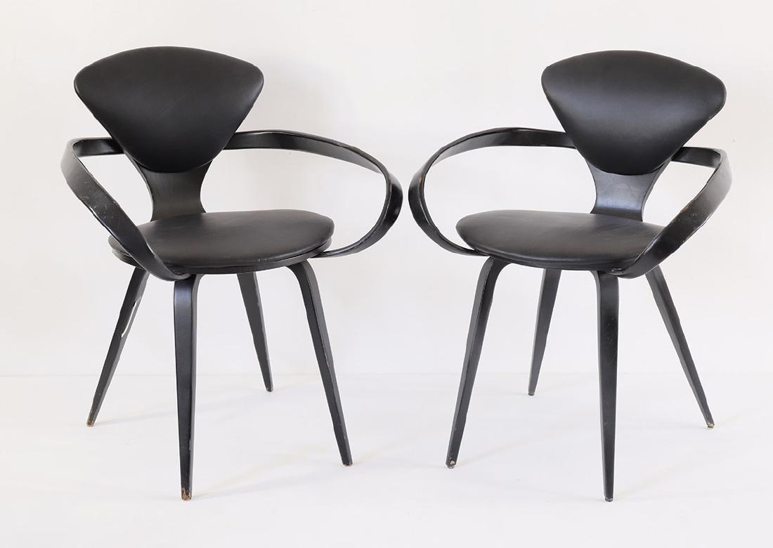 Norman Cherner, 2 Cherner Armchairs
