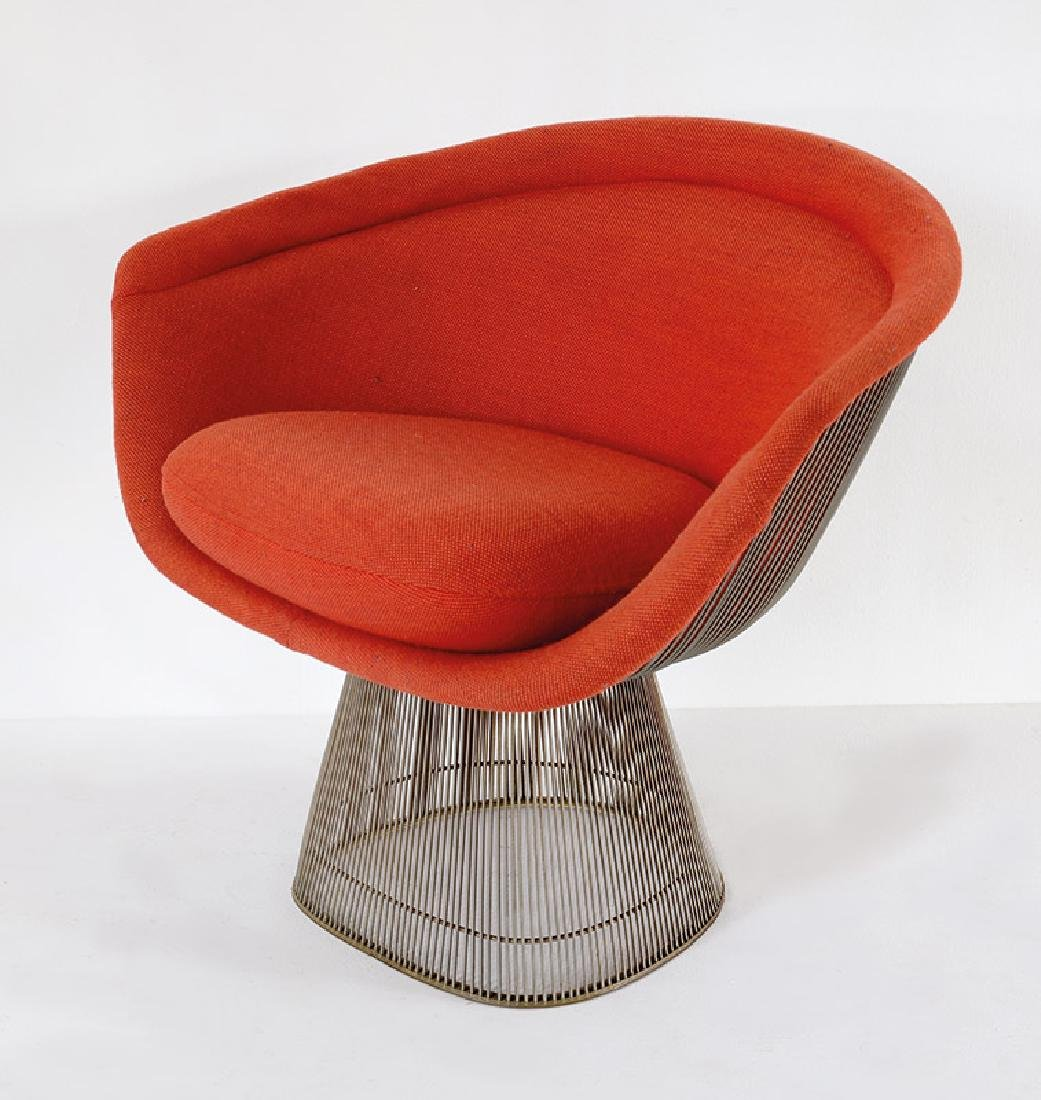 W. Platner, Knoll International, Armlehnsessel Mod.