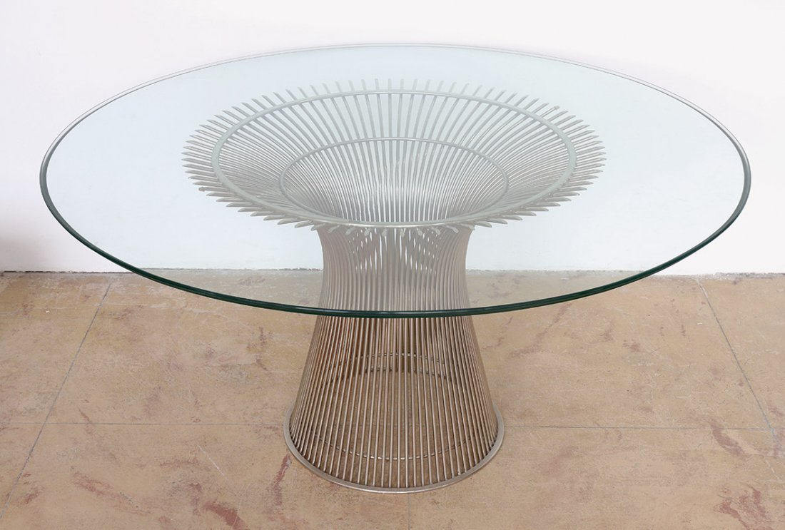 Warren Platner, Knoll International, Esstisch Mod. 3716