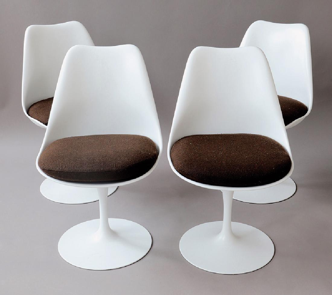 Eero Saarinen, Knoll International, 4 Stühle Tulip