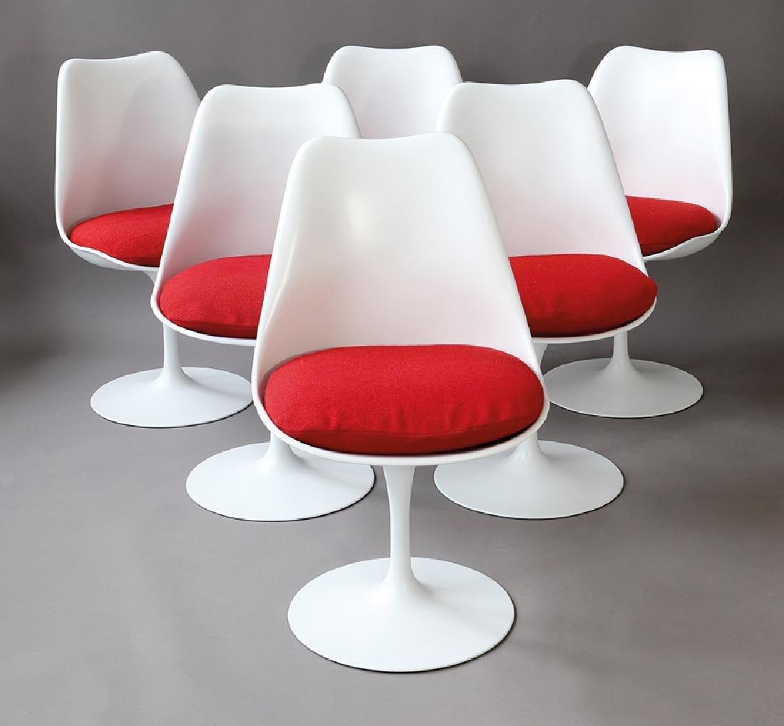 Eero Saarinen, Knoll International, 6 Stühle Tulip