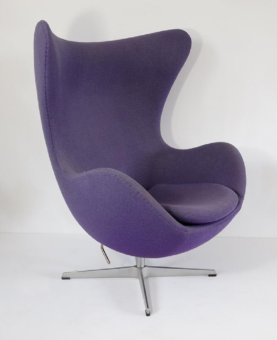 Arne Jacobsen, Fritz Hansen, Sessel Mod. 3317 Egg Chair