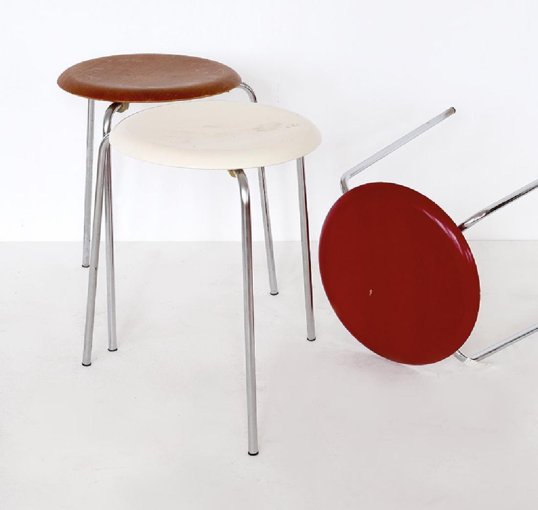 Arne Jacobsen, Fritz Hansen, 3 Hocker Dot