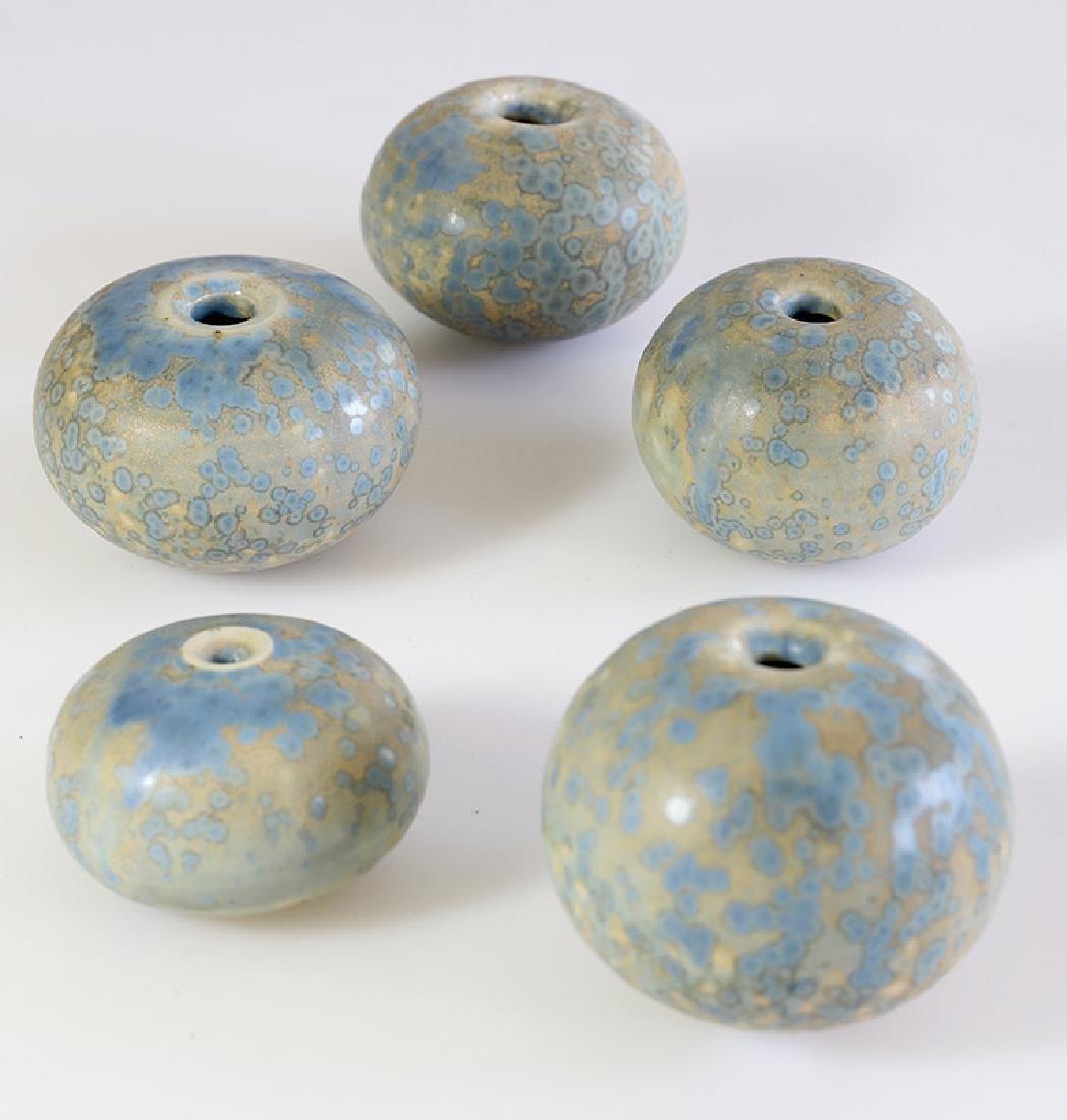 Gotlind Weigel, 5 small vases