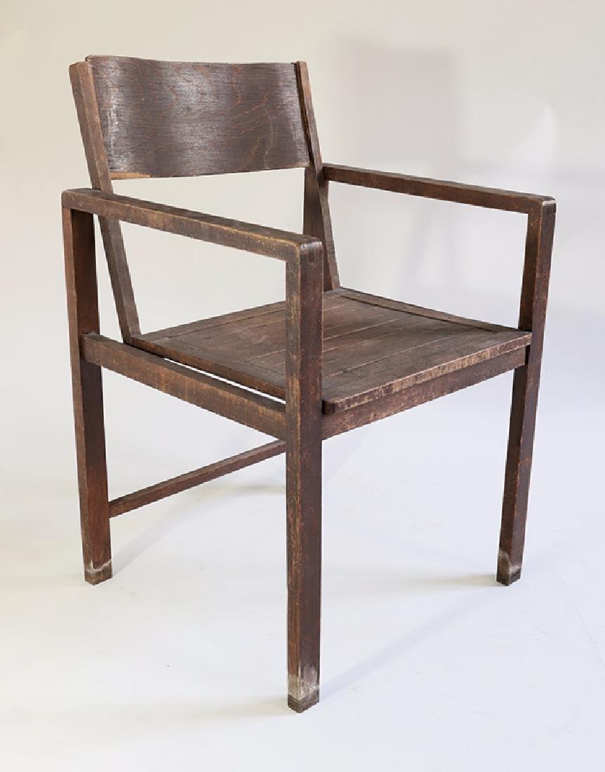 Typen-Armlehnstuhl armchair Erich Dieckmann